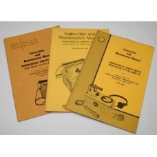 Original manuals for the CD V-700 Civil Defence Geiger Counter (CDV001) ENI & Lionel only.