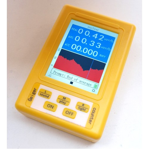BR-9C Dual Mode Geiger Counter & Electromagnetic Radiation Dosimeter JUST ONE AVAILABLE