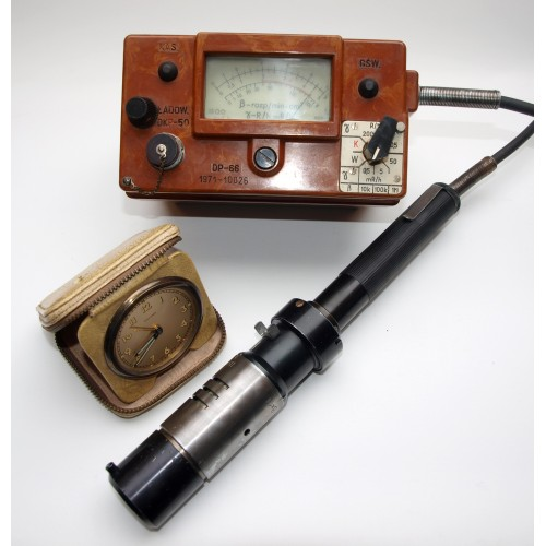 DP-66 & DP66M Vintage Cold War Geiger Counter & Mini Speaker - NEW LOW PRICE