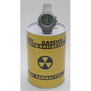 Gamma Master Radiation Monitor Watch, Special Edition, UK Shipping Included