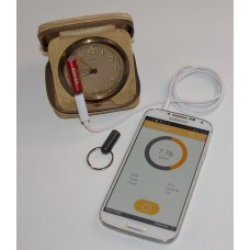Smart Geiger FSG-001 Smartphone Radiation Monitor Adaptor (with extension cable & keyring holder)