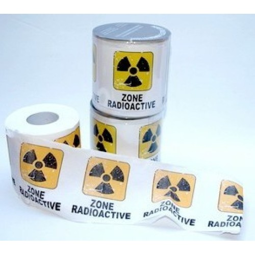 French 'Zone Radioactive' Toilet Paper - YES - really!!