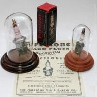 Vintage Firestone 'Radioactive' Spark Plug - LAST FEW REMAINING