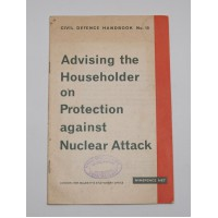 Original 60's paper copy of the Civil Defence Handbook No 10 - Just 1 available!