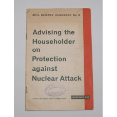 Rare paper copy of the Civil Defence Handbook No 10 (Grade A)
