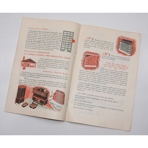 SPECIAL OFFER - Original 60's paper copy of the Civil Defence Handbook No 10