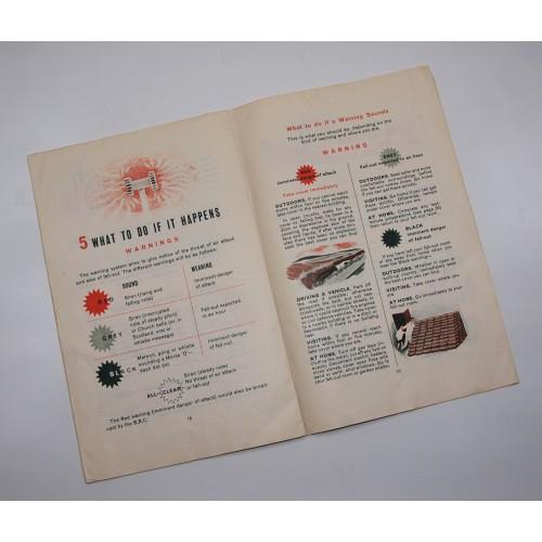 Original 60's Civil Defence Handbook No 10