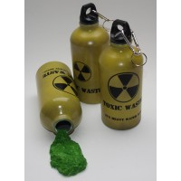 'Toxic Waste' Drinks Bottle, 500ml - exclusive to anythingradioactive