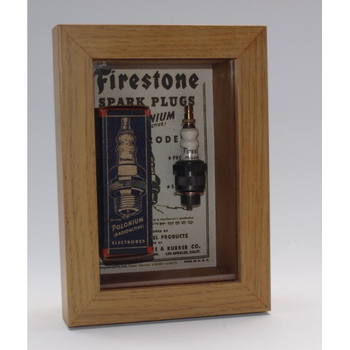 Boxed Firestone Polonium Spark Plug - Very Limited Stocks