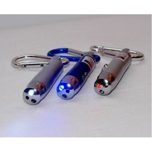 3 in 1 - UV, Laser and Bright White Torch