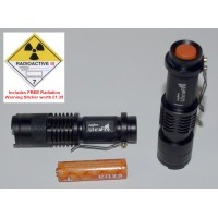 Cree UltraFire 3-Mode UV Torch - New to anythingradioactive