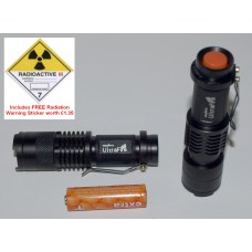 Cree UltraFire 3-Mode UV Torch - VERY LOW STOCKS