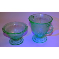 Uranium glass set