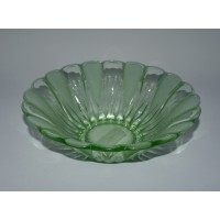 Decorative Uranium Glass Bowl - New Arrival