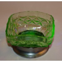 Sweet Dish with metal base - NEW LOW PRICE!