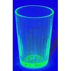 Small Uranium Glass Shot Glass