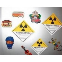 Category III Radiation Warning Magnetic Fridge Sticker - Limited Stocks Available