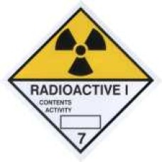 Radioactive Category I Sticker