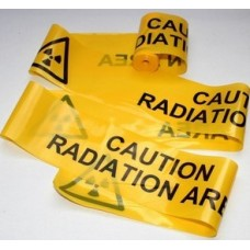 8M Roll Caution Radiation Area Barrier Tape - GREAT FOR ANY PARTY, DEMO, OR JUST CORDONING OFF THE FRIDGE!!