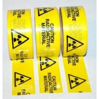 66m Roll Caution Radioactive Material Adhesive Tape - NEW LOWER PRICE